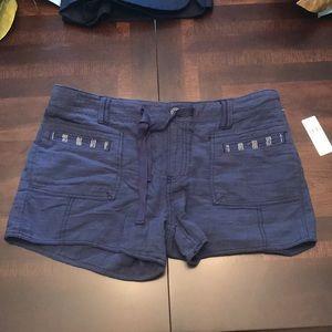 Super soft blue shorts
